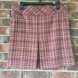 Ann Taylor Loft Plaid Skirt